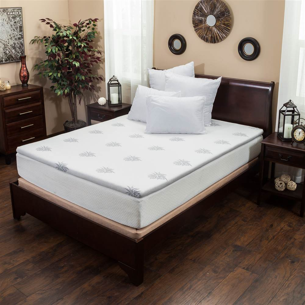 Gel Memory Foam Mattress Topper (King)