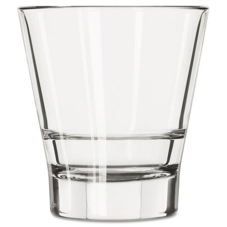 Endeavor Rocks Glasses, 12 oz, Clear, Double Old Fashioned Glass, 12/Carton 12 Double Old Fashioned Glasses