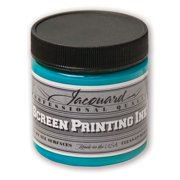 Jacquard Professional Screen Printing Ink, 4 oz., Turquoise