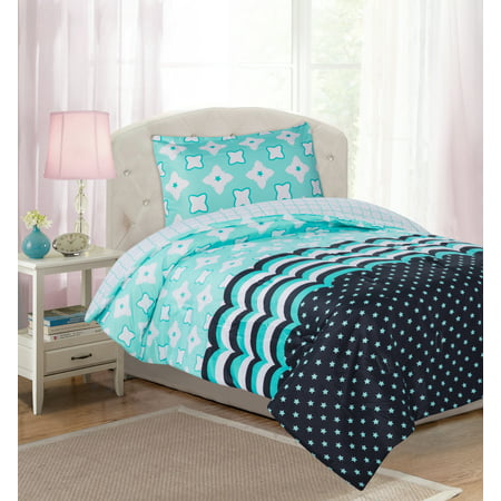 Your Zone Stacy Mint Comforter Set
