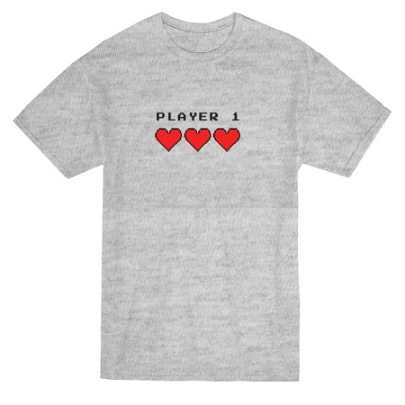 Videogame Player Matching Couple Graphic Mens T Shirt