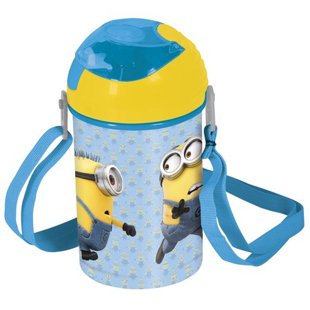 Despicable Me 3 Minions 450ml Pop-Up Canteen