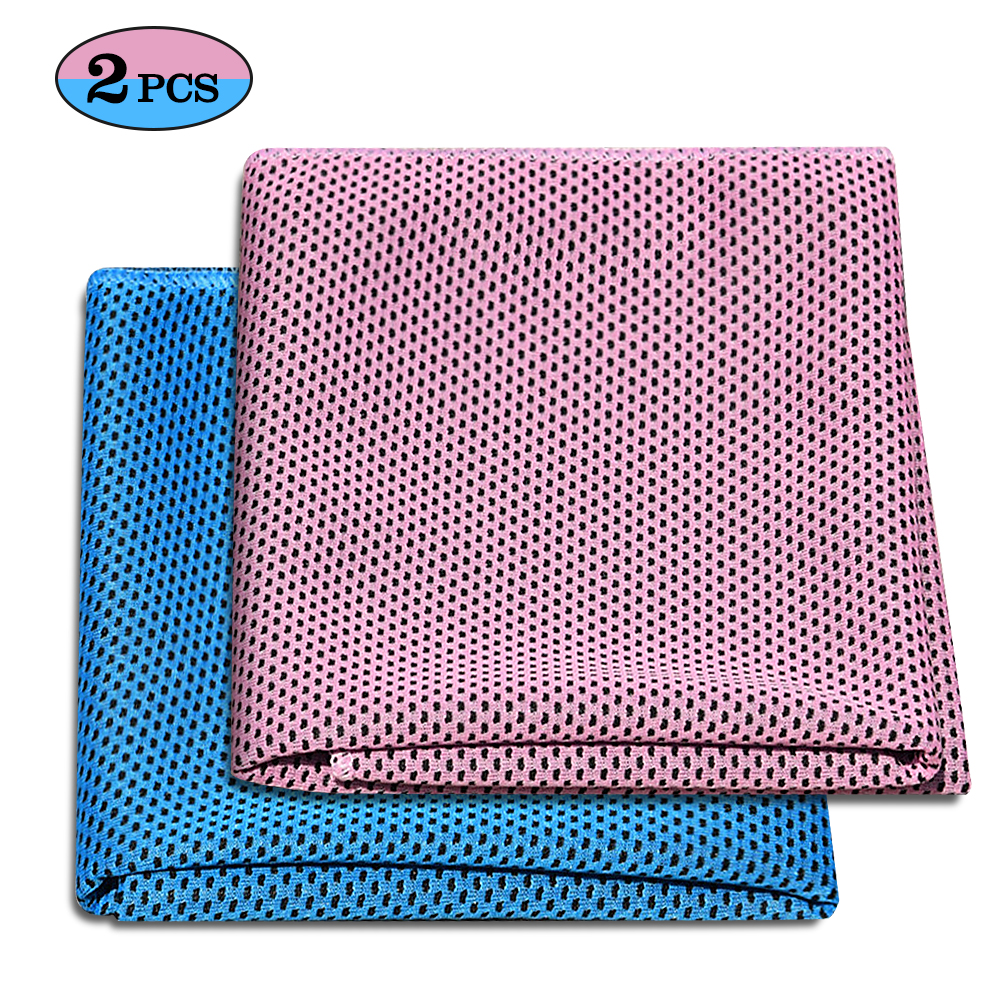 Details about  /Quick Drying Sports Towel Cold Cool Ice Bag Camping Hiking Portable Running Yoga