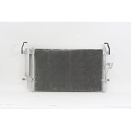 A-C Condenser - Pacific Best Inc For/Fit 3084 01-06 Hyundai Elantra 03-08 Tiburon WITH Dryer &