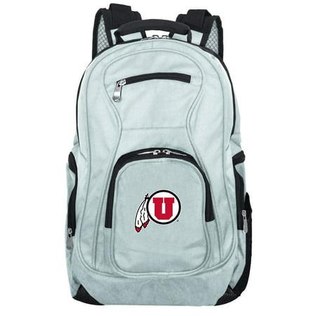 NCAA Utah Utes Gray Premium Laptop Backpack