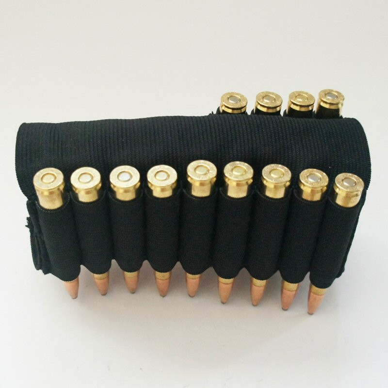 Ultimate Arms Gear 13 Round Rifle Ammo Shot Shell Cartridge Stock Buttstock Slip Over Carrier Holder Fits .30-06 .3006 .30 06 Models Ambidextrous Rifle