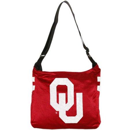 Veteran Jersey Tote (NCAA Oklahoma Sooners Ladies Crimson Veteran Jersey Tote)