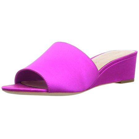 Loeffler Randall Women's Tilly-Sat Wedge Sandal Satin Wedge Sandal