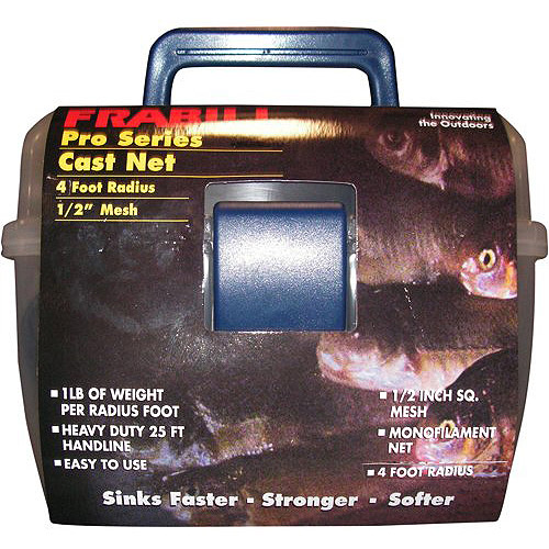 Outdoor Angler 1/2 Mono Cast Net 5'