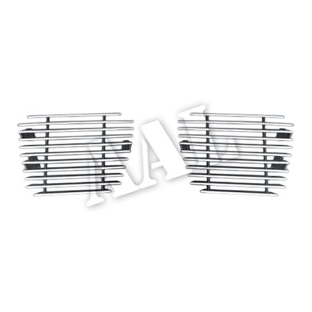 AAL BOLT ON / BOLT OVER BILLET GRILLE / GRILL INSERT For 2007 2008 2009 2010 2011 2012 2013 2014 CHEVY AVALANCHE BUMPER 2PCS BOLTON (Not For Z71 Model)