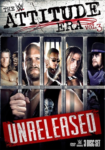 WWE: The Attitude Era Volume 3 (DVD) by WARNER HOME VIDEO