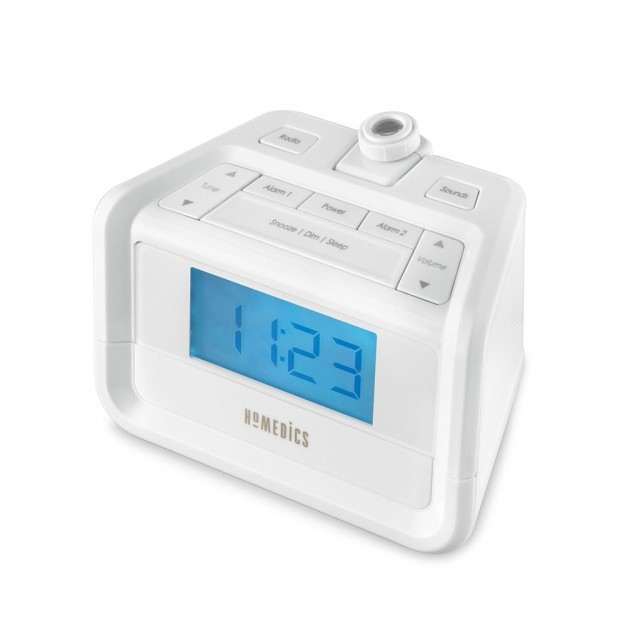 SoundSpa Digital FM Clock Radio with Time Projection, SS-4520