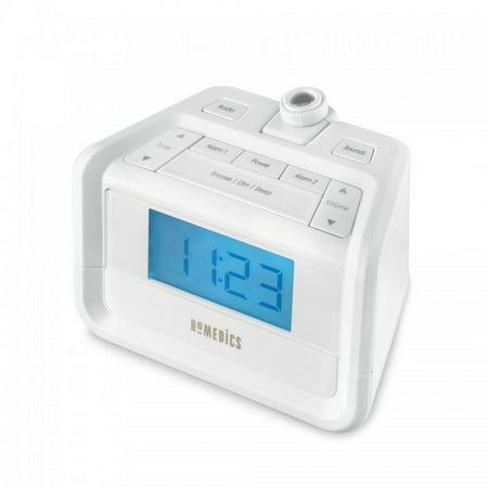 SoundSpa Digital FM Clock Radio with Time Projection, (Time Clock Machines)