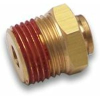 38 in. Push to .25 in. NPT Male Air Fitting