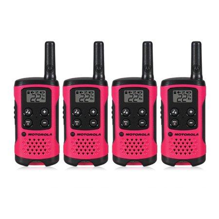 Motorola T107 (4-Pack) Walkie Talkies