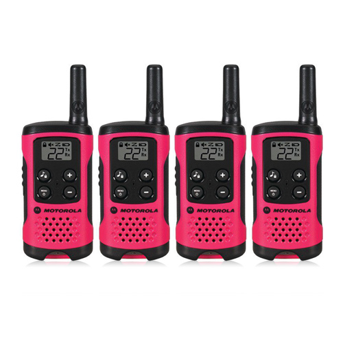 """Motorola T107 (4-Pack) Walkie Talkies"""