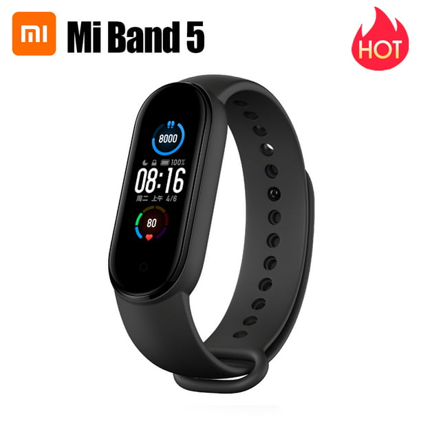 Xiaomi Mi Band 5 Fitness Tracker Smart Bracelet Dynamic Color AMOLED Screen 11 Sports Modes Wristband Magnetic Charge Bluetooth 5.0 Smart Watch Sports Health Activity Tracker