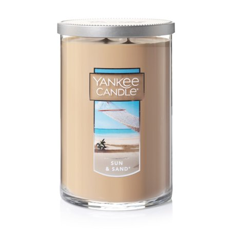 Golden Brown Candle (Yankee Candle Sun & Sand - Large 2-Wick Tumbler)