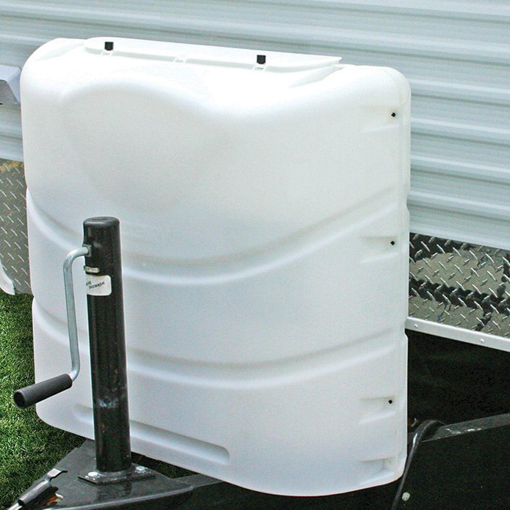 Polar White Camco 40542 Heavy-Duty 20lb or 30lb Dual Propane Tank Cover