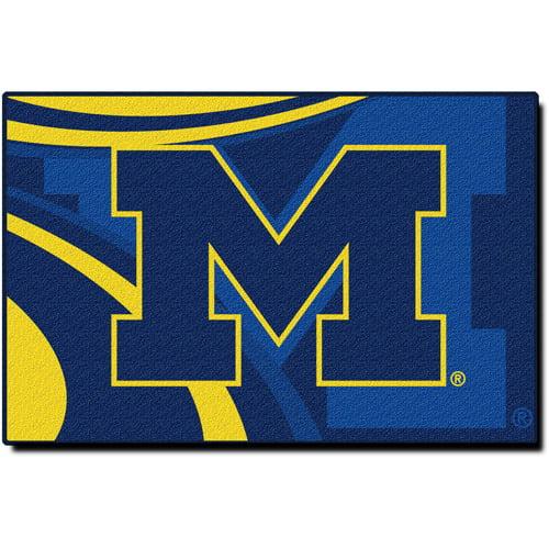 "NCAA Michigan Wolverines 39"" x 59"" Rug"