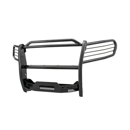 Westin 2016-2018 Toyota Tacoma Sportsman Winch Mount Grille Guard - Black
