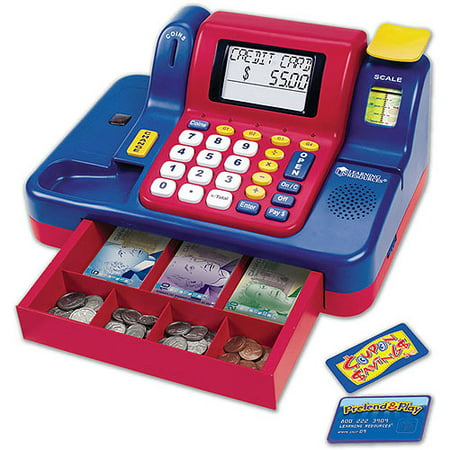 Learning Resources Pretend and Play Teaching Cash Register with Canadian