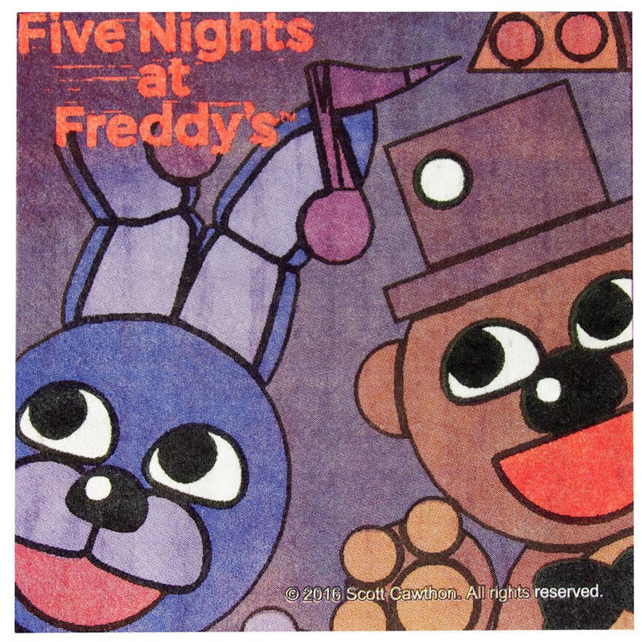 Five Nights at Freddy's Beverage Napkins, 16 Pack by Generic