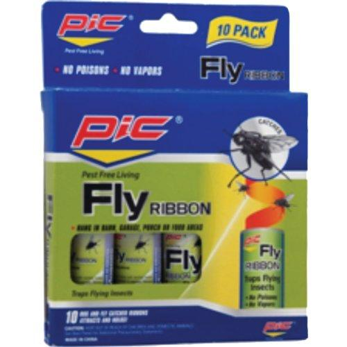 Pic PCOFR10BM Fly Ribbon Bug & Insect Catcher-10 pk