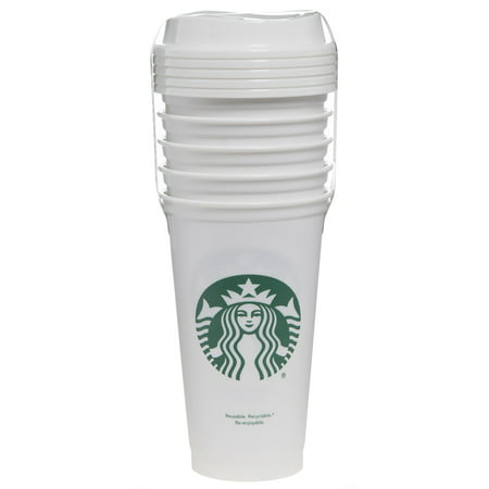 Starbucks 16oz Reusable Cups 5-Pack White - Starbucks Halloween Mugs For Sale