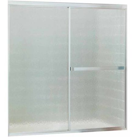 "Sterling 690B-59S Standard 54""-59""W x 56.437""H Sliding Bathtub Door, Available in Various Colors"