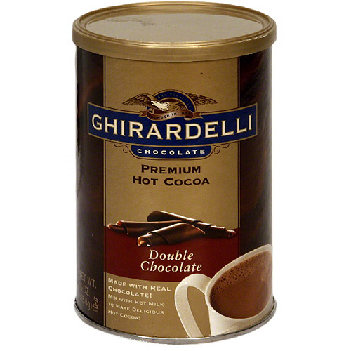 Ghirardelli Chocolate Double Chocolate Hot Cocoa Mix, 16 oz, (Pack of 8)