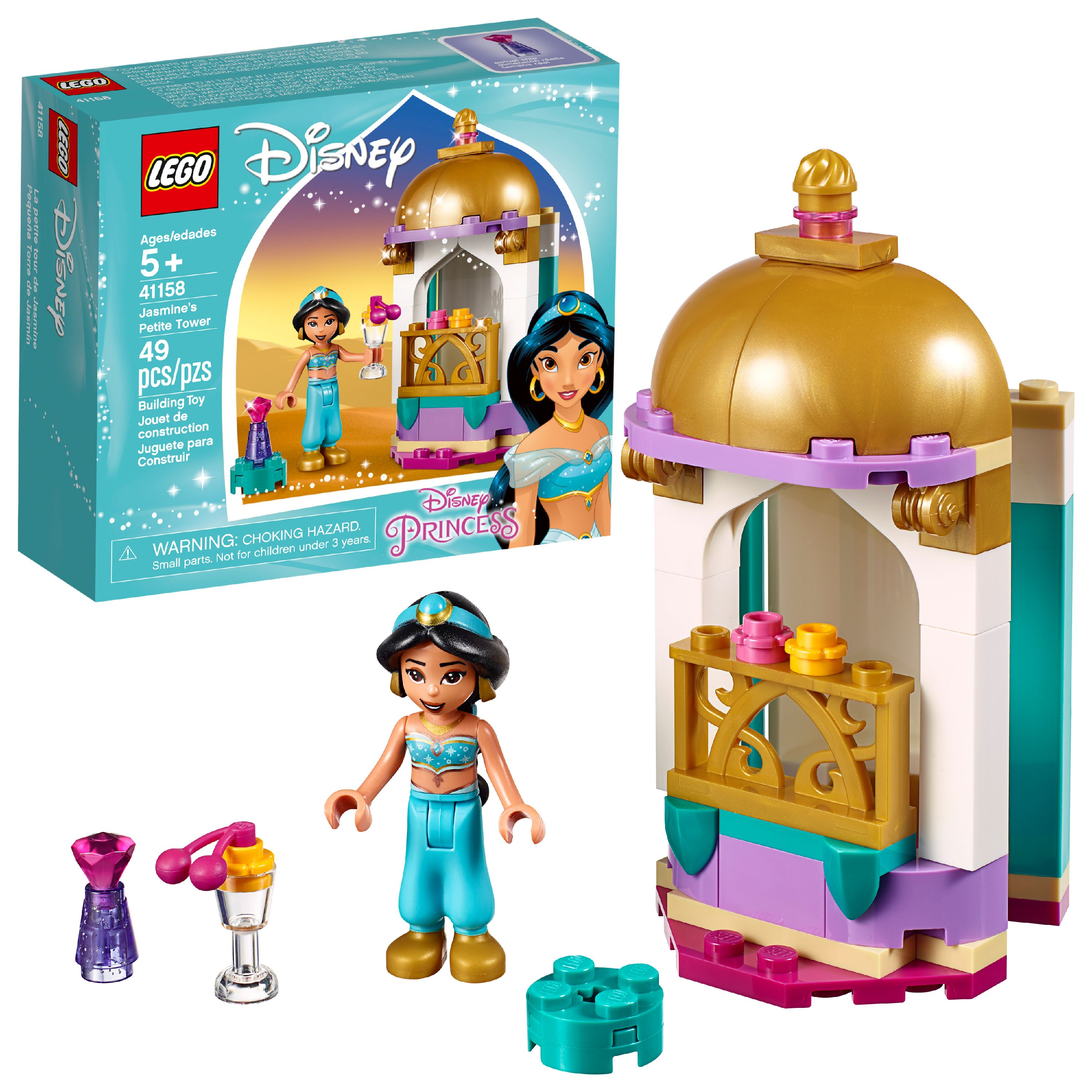 LEGO Disney Princess Jasmine's Petite Tower 41158