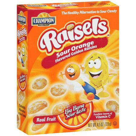 Champion Raisels Orange Raisins 45 Oz Walmartcom
