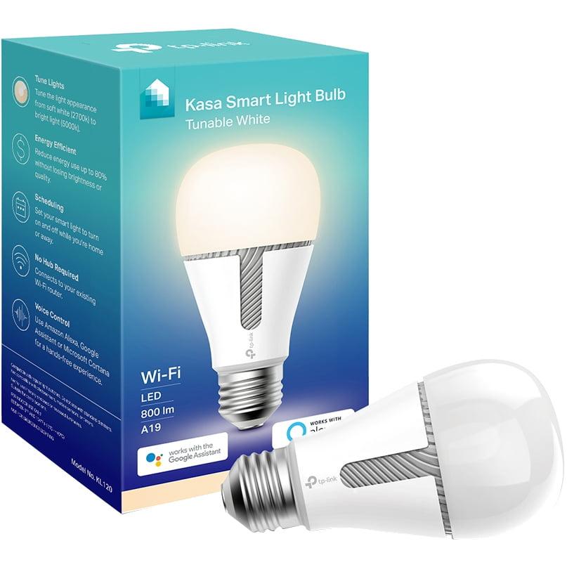 TP-Link Kasa KL120 Smart Light Bulb, 60W LED Tunable White, 1-Pack