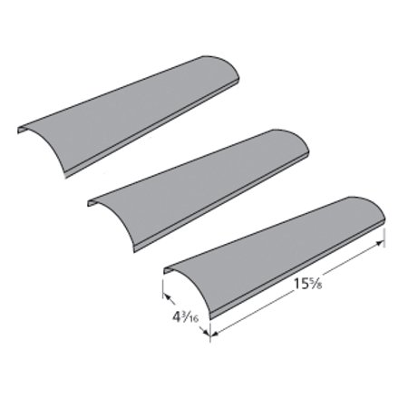 Kenmore Sears Gas Grill Heat Diffuser L3018S-00-2007 3-Pack ()