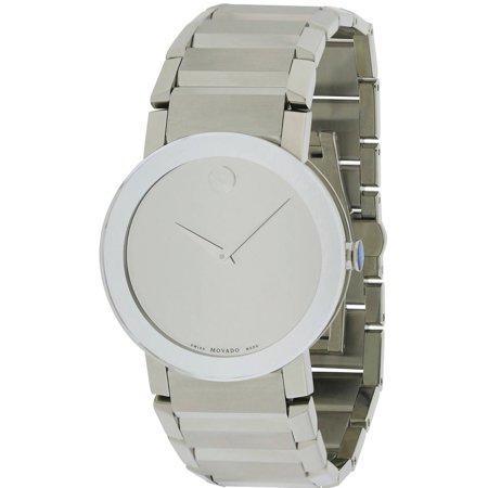 Movado Sapphire Mens Watch 0606093