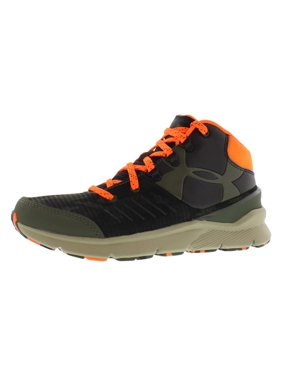 a86dc0893c0e Product Image Under Armour Ua Bgs Overdrive Mid Grt Running Boy's Shoes Size