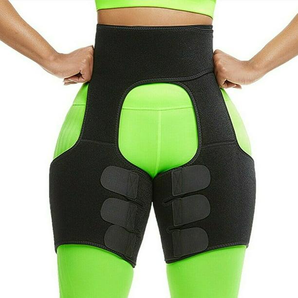 Body 3 In 1 Waist And Thigh Trimmer For Women Weight Loss Butt Lifter Waist Trainer Slimming Support Belt Hip Raise Shapewear Thigh Trimmers Walmart Com Walmart Com