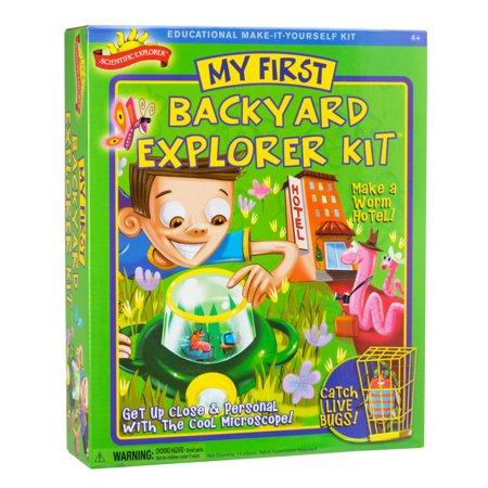 Scientific Explorer My First Backyard Explorer Kit