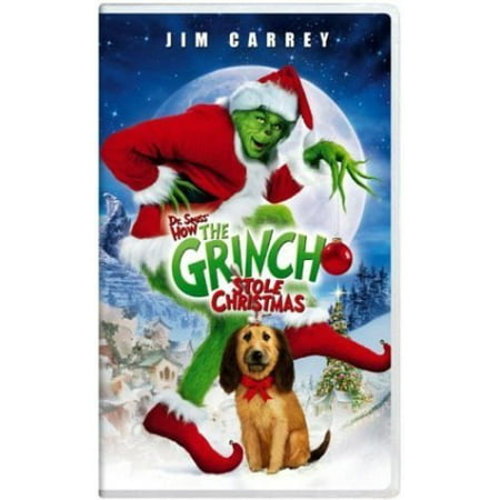 How The Grinch Stole Christmas 2000 Vhs.Grinch 2000 Vhs