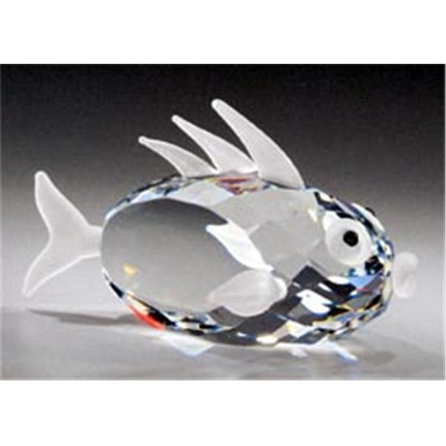 Asfour Crystal 957-50 2.55 L x 1.45 H in. Crystal Fish Sea Figurines