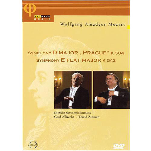 "Symphony D Major - ""Prague"" K 504 / Symphony E Flat Major K 543"