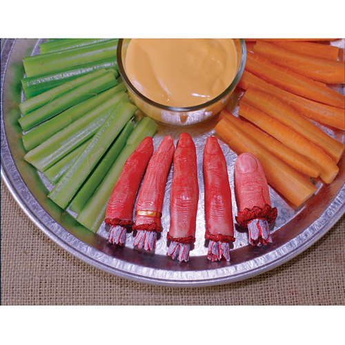 Severed Finger Food Adult Halloween Accessory