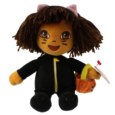 TY Beanie Baby - DORA the Explorer (Cat Costume) (7 inch) - Ty Costume