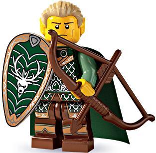 LEGO Series 3 Elf Archer Minifigure