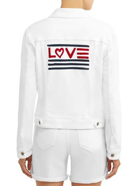 6ef2dd903b Product Image Women's Love Flag Denim Jacket. Product TitleEV1 from Ellen  DeGeneresWomen's ...