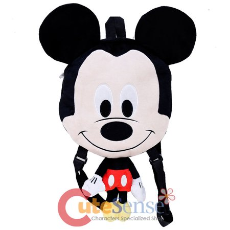 Disney Mickey Mouse Flat Plush Doll Backpack 20in Baby Mickey Costume - Baby Mickey Mouse Costume