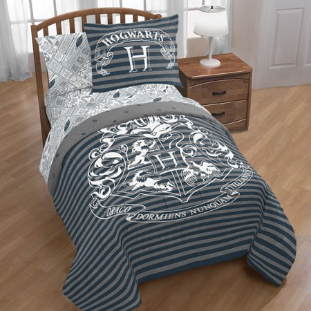 Warner Bros. Harry Potter Draco Dormiens Twin Bed in a Bag with Sham