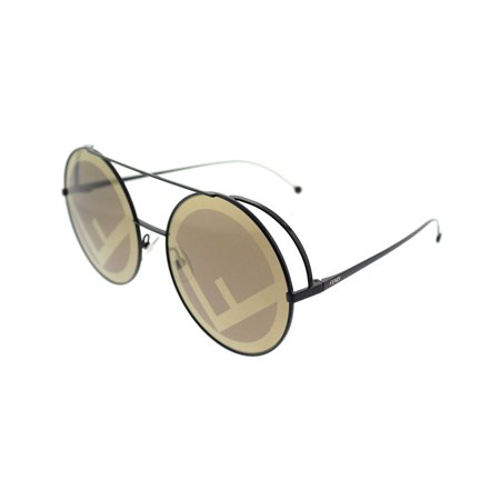 Fendi Run Away FF 0285 09Q Womens Round Sunglasses