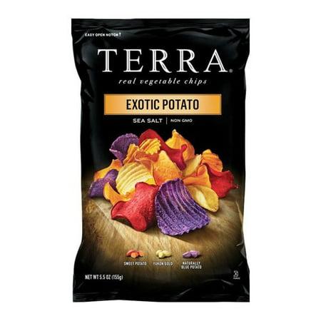 Terra Exotic Potato Blend Sea Salt Real Vegetable Chips, 5.5 oz